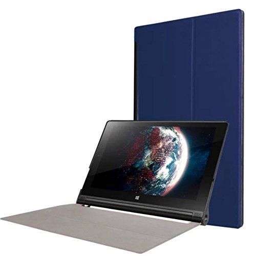 WiTa-Store Tasche für Lenovo Yoga Tab 3 10 YT3-X50 F L 10.1 Zoll Schutz Hülle Flip Tablet Cover Case (Blau)