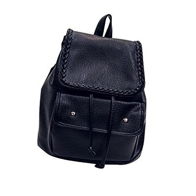 Internet Sac à dos de femmes en cuir besace épaule sac à dos scolaire sac à dos Sacs Travel Leisure
