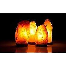 Salt Lamps - Lámpara de cristal de sal (peso: 2-3 kg)