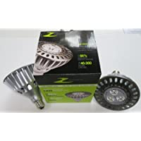 Zenaro Retrofit LED proiettore/faretto LED/PAR38/E27/IP65 per interni ed esterni, 17 Watt 50 ° 5000 K Bianco, Dimmerabile