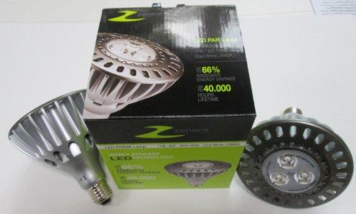 Zenaro Retrofit LED proiettore/faretto LED/PAR38/E27/IP65per interni ed esterni, 17Watt 50° 5000K Bianco, Dimmerabile