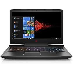OMEN by HP 17-an103ng (17,3 Zoll/Full HD IPS 60Hz) Gaming Laptop (Intel Core i7-8750H, 1 TB HDD + 256 GB SSD, 16 GB RAM, Nvidia GeForce GTX 1050Ti 4GB, Windows 10 Home 64) schwarz Omen by HP