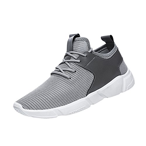 Light Weight Gym Sports Trainer Shoes Men Mesh Breathable Light Weight Male...