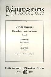 Inde classique manuel des études indiennes : Tome 2