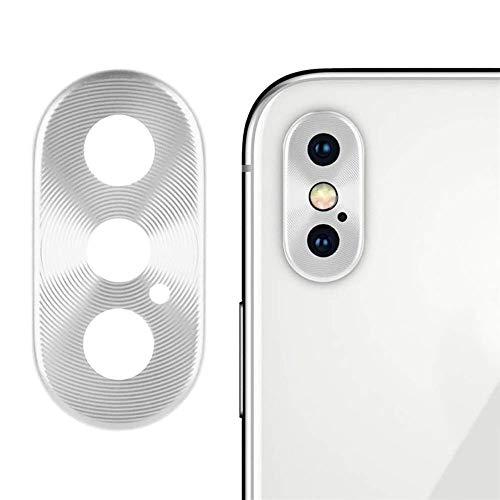 jieGREAT ❤❃ Handy-Zubehör Räumungsverkauf❤❃ ,Metal Rear Camera Lens Case Cover Protector Accessory + Film Für iPhone XS/XS Max Bluetooth Metal Cover