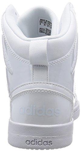 Damen W ftwbla Turnschuhe ftwbla Hoops ftwbla Weiß Adidas Team Mid ZIqdHdF