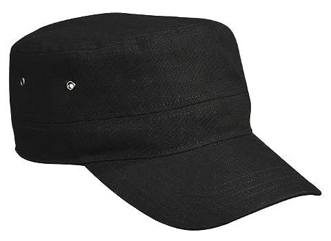 MB Military Style Cap - Black