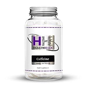 Health Hack Koffein, 200 mg, 100 Tabletten
