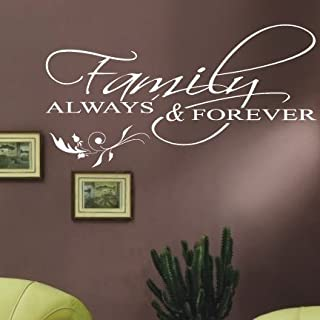 Large Family Quotes Lettering Window Wall Stickers/Wall Decals/Wall Transfers/Wall Tattoo/Wall Quote by amazing sticker