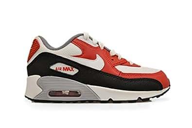 Nike Air Max 90 Mesh Kinder, Weiß - weiß - Größe: 34: Amazon.de ...