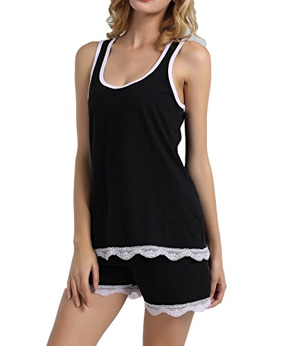 Vansiter Chamllymers Women Sleepwear Soft Woman Cotton Pyjamas Sets