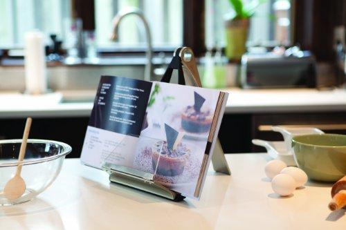 Umbra 330100-047 Pelica leggio da cucina per libro di ricette design