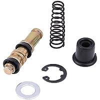 KIMISS 12.7mm Kits de reparación de pistón de la bomba de freno del embrague de la motocicleta con los accesorios de reparación de los aparejos de cilindros