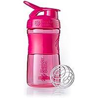 BlenderBottle Sportmixer Tritan Shaker | Protein Shaker | Wasserflasche | Diät shaker Pink (590ml)