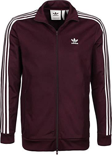 adidas Beckenbauer TT Jacke maroon, XS -