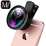 MOVO® HD Lens Universal Professional HD Camera Lens Kit For IPhone 6 6 Plus 5S 5 Samsung S6 S5 Note 4 3 0.45x Wide Angle Lens 12.5x Macro Lens
