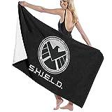 65469longshuo Agents of Shield Bath Towels Luxury Microfiber Beach Towel Quick-Drying Pool Towel Blanket Asciugamano