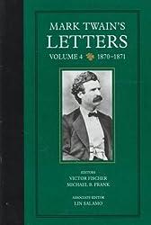 Mark Twain's Letters V 4 - 1870-1871