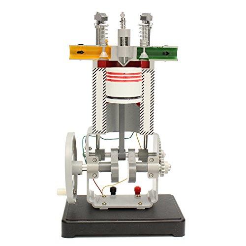 GOZAR Diesel Motor-Modell 31009 Funktionsprinzip Physik Experiment Internal Combustion Engine Test Tool