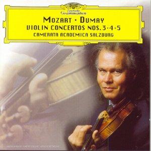Mozart : Concertos pour violon n° 3, 4 et 5