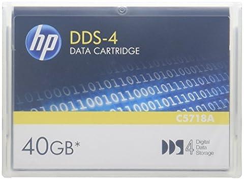 HP DDS-4 20 Go / 40 Go Support de
