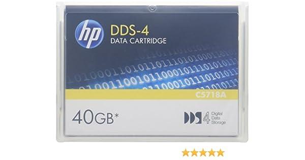 HPE Storage BTO C5718A DDS 4 40GB 150M Data Cartridge