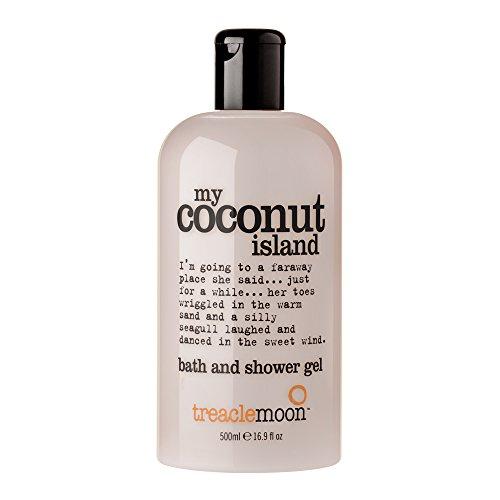 Treaclemoon my coconut island bath and shower gel 500 ml / Englische Version -