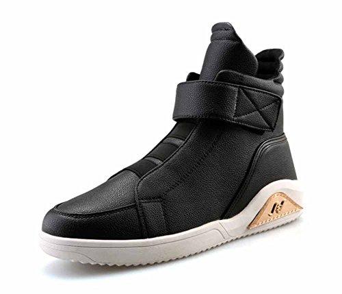 Hommes Mode Hip-hop Trainers Automne Hiver Haut Haut Skateboard Chaussures Britannique Style Grande Taille Sneakers