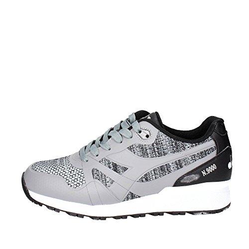 Diadora 501.172295-75073 Sneaker Uomo, Grigio/Nero, 43
