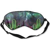 Amazing Green Cactus 99% Eyeshade Blinders Sleeping Eye Patch Eye Mask Blindfold for Travel Insomnia Meditation preisvergleich bei billige-tabletten.eu