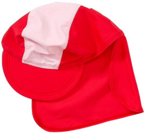 Playshoes Unisex - UV-Schutz nach Standard 801 und Oeko-Tex Standard 100 Bademütze Basic rot/rosa 460065, Gr. 53 (cm), Rosa (900 original)