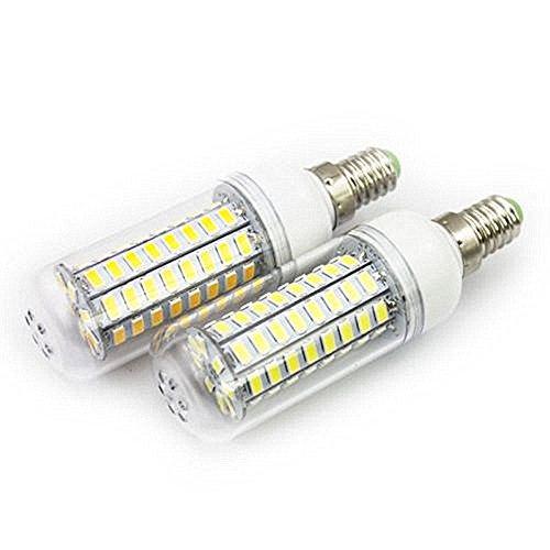 10x, 6x, 2x, E27 E14 B22 G9 72LED 15W SMD5730 CA: 85-265 V LED Corn Light Bulb LED Corn LED Lampadina (Bianco freddo, E14-2x)