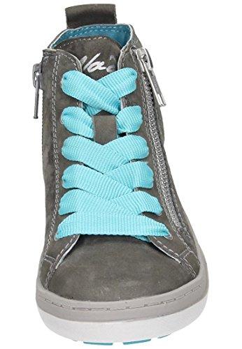 VADO Maedchen Halbschuhe blau, 540091-5 grau