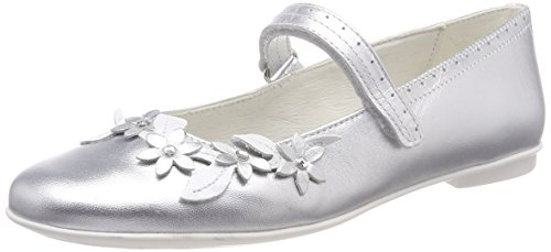 (Primigi Mädchen Pfr 14367 Geschlossene Ballerinas, Silber (Argento 00), 31 EU)
