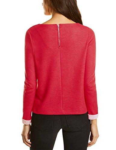 Street One Damen Pullover Rot (Scarlet Red 11157)