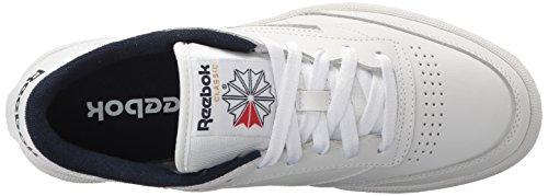Reebok-Club MEMT Klassische Sneaker Int-weiß/Navy