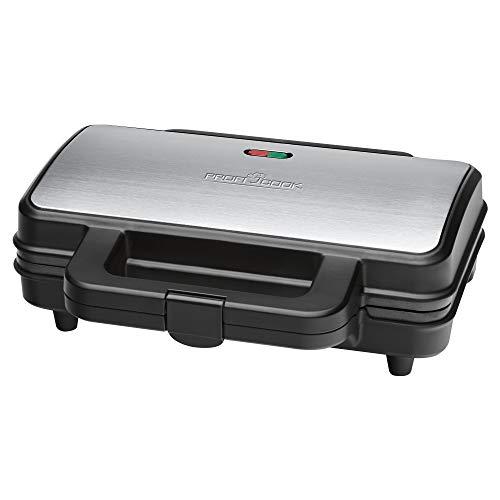 Profi Cook PC-ST 1092 Sandwichtoaster, extra große Sandwichplatten für amerikanische...