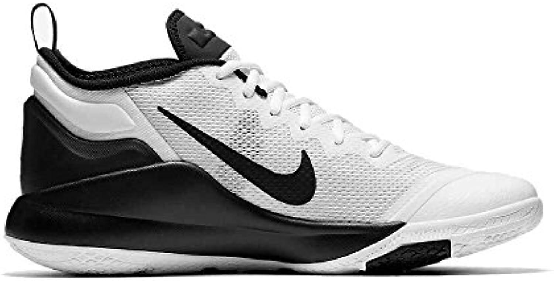 Nike Herren LeBron Witness II weissszlig Textil/Synthetik Basketballschuhe 41