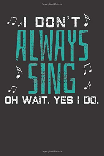 Notebook: Music Singer Theater Karaoke Singing Party Gift Dot Grid 6x9 120 Pages