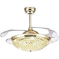 Fesselnd ... Mit Einziehbaren Klinge Dimmbare Beleuchtung Ventilator Kronleuchter  Geeignet Für Innen, Wohnzimmer, Esszimmer, Schlafzimmer Und Flur  Deckenleuchte Kit
