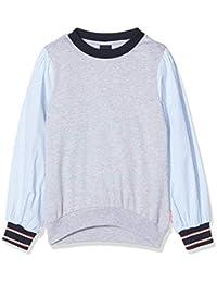 Scotch & Soda Jersey tee with Loose Woven Sleeves Camisa Manga Larga para Niñas
