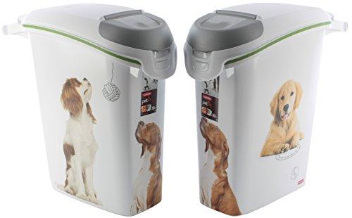 Curver Futtertonne 10KG /23L Hund Box Tonne Futtereimer Petlife Futter Container
