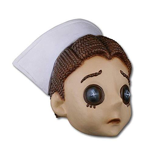 YaPin Fünfte Persönlichkeit Maske Kopfbedeckungen 5. Persönlichkeit Survivor Doktor Maske Halloween Dress Up Requisiten