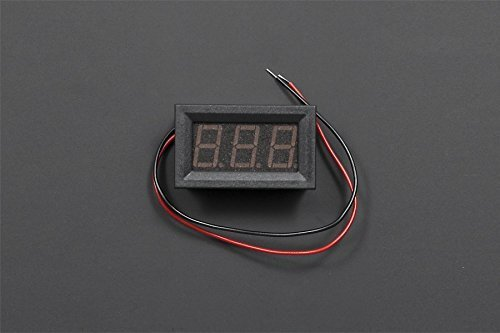 Red LED DC Voltage Meter For 3V-30V Battery Level Display Dual-marine Audio