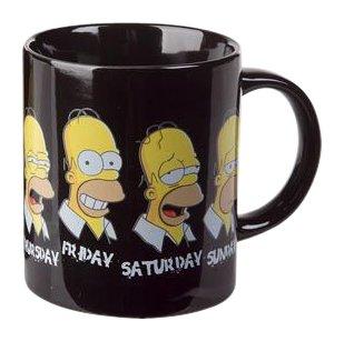"""Mug Homer Simpson """"La Semaine"""""""