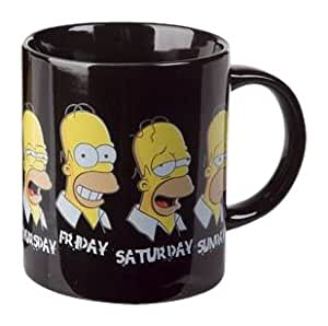The Simpsons Tasse Daily Homer