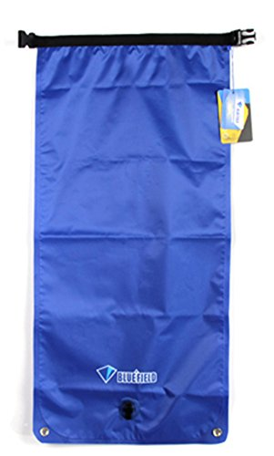 SaySure - 3 Colors BlueField Outdoor Waterproof Dry Bag Sack 22/33L /Samll/L-size Single/Double Shoulder Bucket for Camping Canoe Boating - GMN-BG-SPT-000259