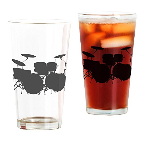 Drums - Pint Glass, 16 oz. Drinking Glass