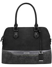 33d7d37125d5a David Jones - Damen Elegante Handtasche - Bugatti Bowling Stil Henkeltasche  - Multicolor Frauen Schultertasche…