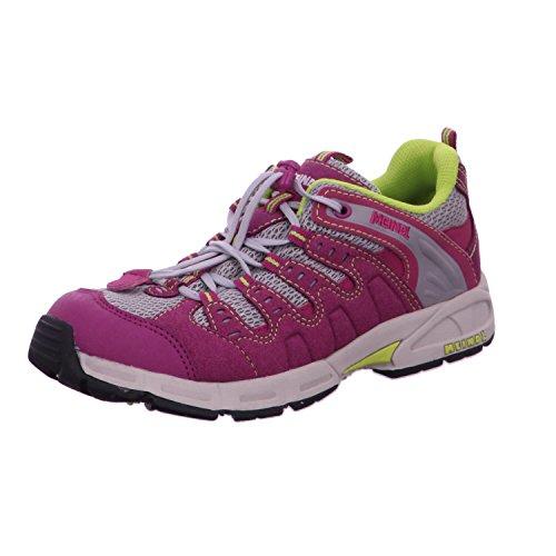 Meindl Kinder Schuhe Respond Junior 2044 Aubergine/Silber 26